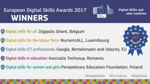 CAPSELLA selected for the European Digital Skills Award 2017