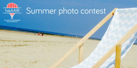 Take part in the hackAIR summer photo contest