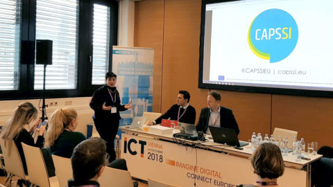 CAPSSI presented at ICT 2018