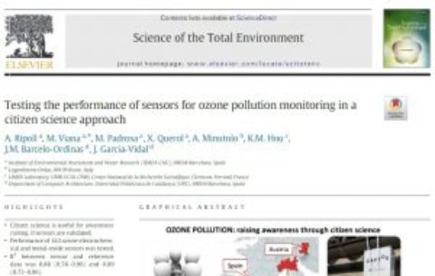 CAPTOR paper published in ScienceDirect