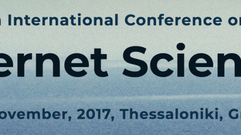 CAPSSI at Internet Science Conference 2017