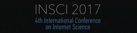 New calls for papers, workshops and demos for INSCI 2017
