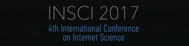 4th International Conference on Internet Science @ Thessaloniki, Greece