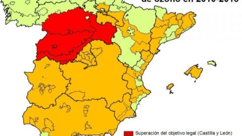 A Spanish region is forced to approve air quality plans