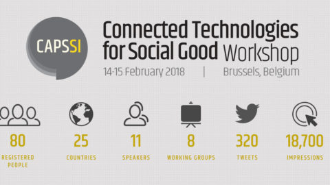 Report: Workshop Connected Technologies for Social Good